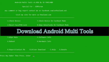 Download Android Multi Tools v1.02b to Recover Pattern / Password