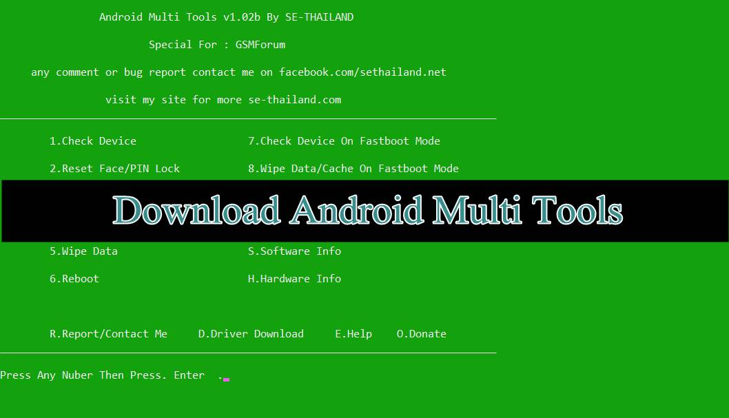android tool and drivers download