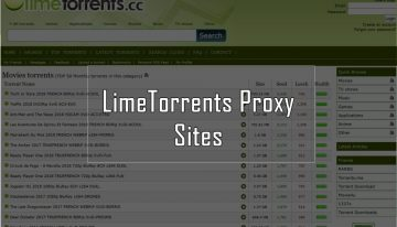 limetorrents proxy 2019