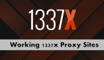 Top 30+ Best 1337x Proxy | Unblocked 1337x Mirror Sites 2019